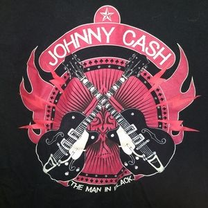Zion Rootswear Shirts - JOHNNY CASH T-SHIRT 👕 Country Rock Music Tee